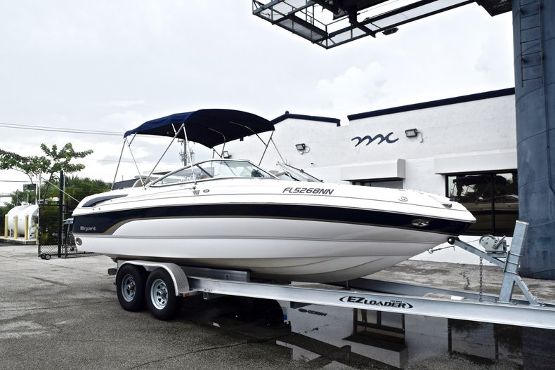 Thumbnail 1 for Used 2007 Bryant 240 Bowrider boat for sale in Fort Lauderdale, FL