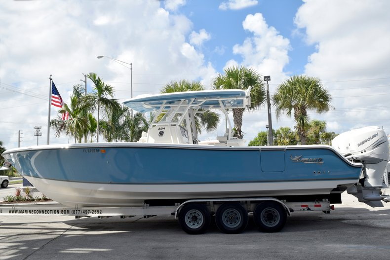 Thumbnail 3 for Used 2017 Mako 334 Center Console boat for sale in Fort Lauderdale, FL