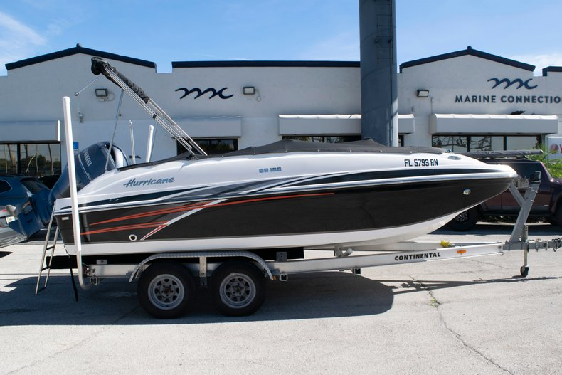 Image 0 for 2017 Hurricane SunDeck Sport SS 188 OB in Fort Lauderdale, FL