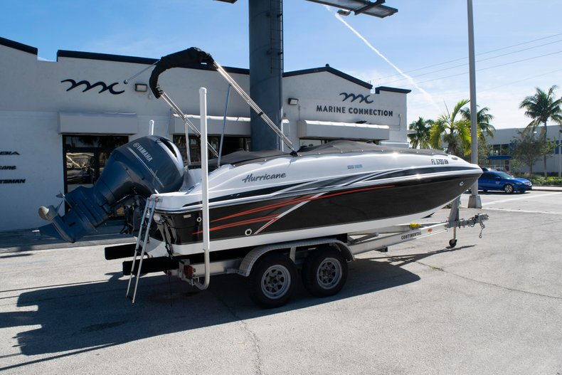 Image 5 for 2017 Hurricane SunDeck Sport SS 188 OB in Fort Lauderdale, FL