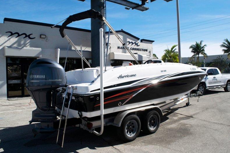 Thumbnail 6 for Used 2017 Hurricane SunDeck Sport SS 188 OB boat for sale in Fort Lauderdale, FL