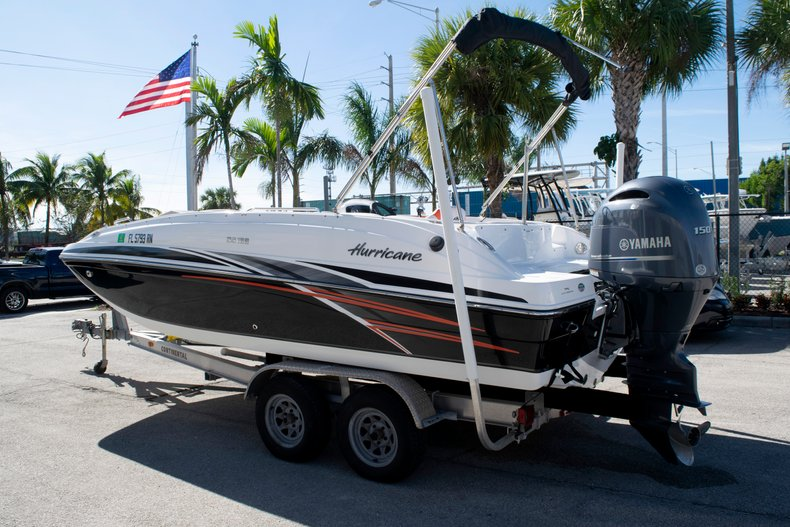 Image 3 for 2017 Hurricane SunDeck Sport SS 188 OB in Fort Lauderdale, FL