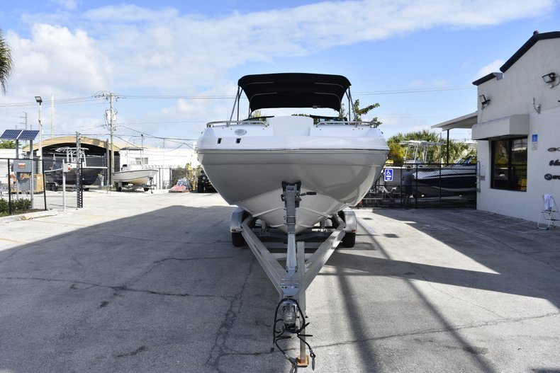 Thumbnail 2 for New 2019 Hurricane SunDeck SD 2486 OB boat for sale in Fort Lauderdale, FL
