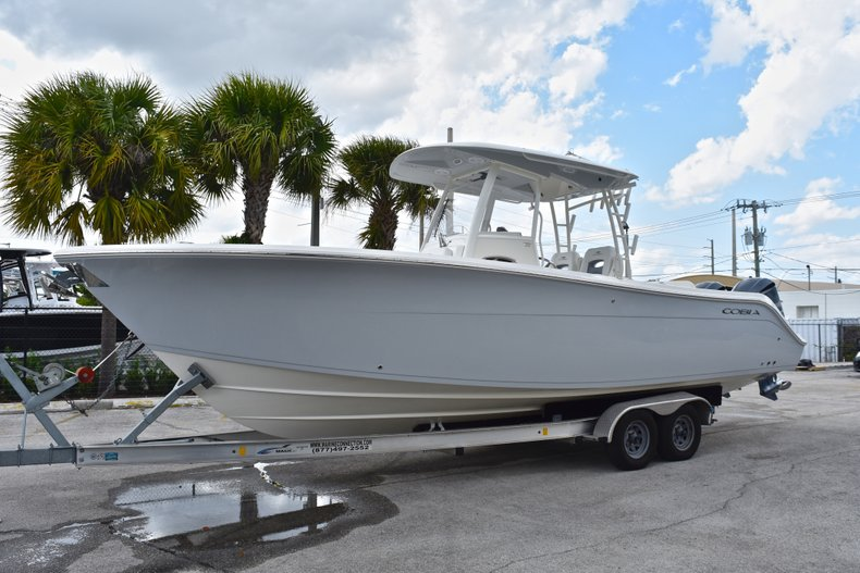 Thumbnail 3 for New 2019 Cobia 301 CC Center Console boat for sale in Vero Beach, FL