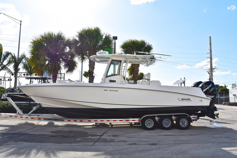 Thumbnail 4 for Used 2013 Boston Whaler 320 Outrage boat for sale in Fort Lauderdale, FL