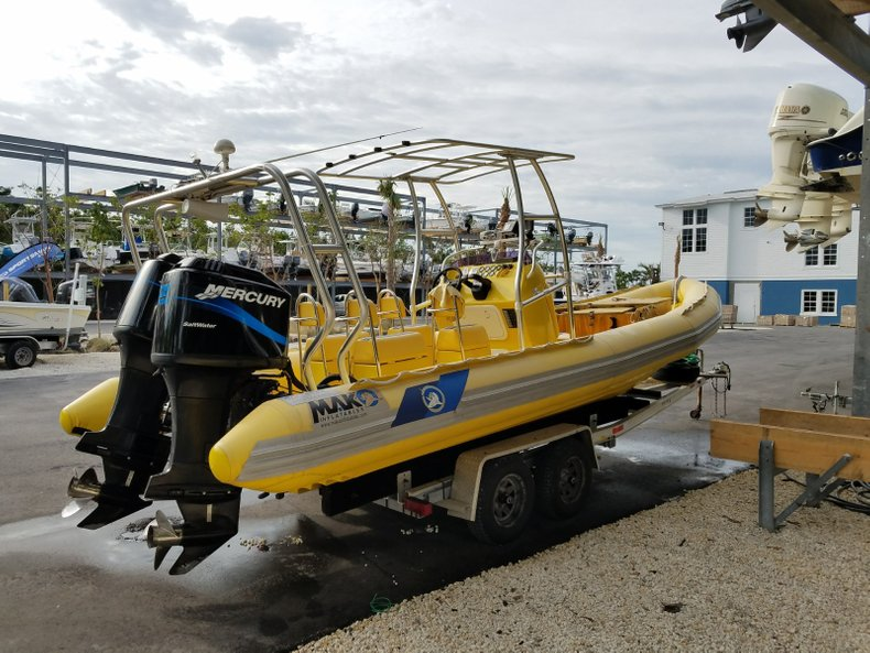 Used 2002 Mako 26 RIgid Inflatable boat for sale in