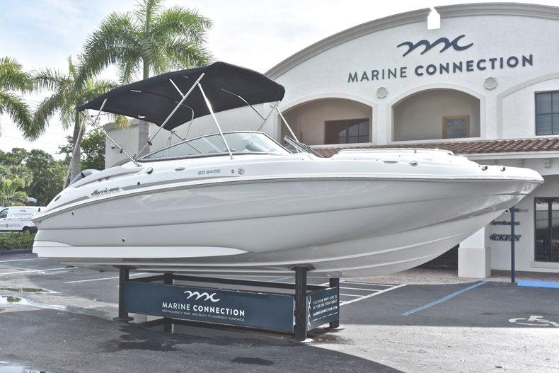 Thumbnail 1 for New 2018 Hurricane SunDeck SD 2400 OB boat for sale in Islamorada, FL