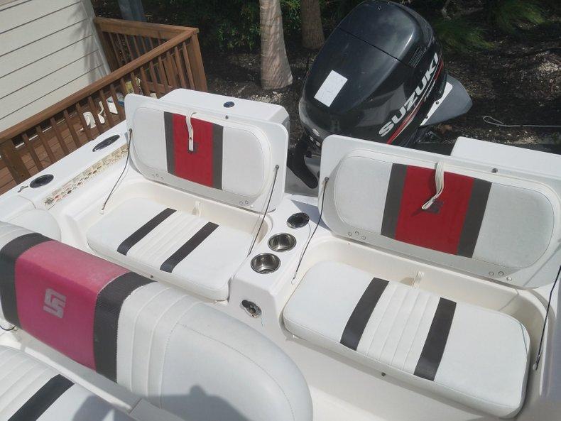 Thumbnail 5 for Used 2012 Carolina Skiff Ultra Elite 19 boat for sale in Islamorada, FL
