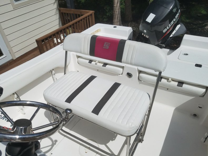 Thumbnail 6 for Used 2012 Carolina Skiff Ultra Elite 19 boat for sale in Islamorada, FL