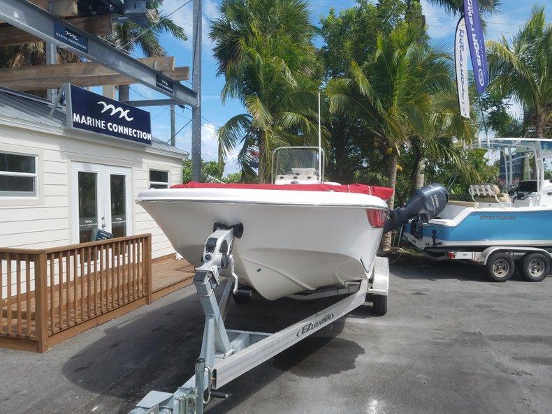 Thumbnail 1 for Used 2012 Carolina Skiff Ultra Elite 19 boat for sale in Islamorada, FL