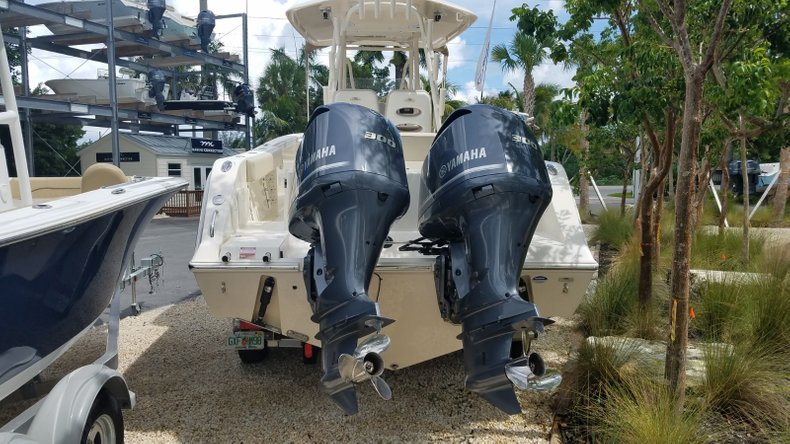 Thumbnail 2 for Used 2016 Cobia 296 Center Console boat for sale in Islamorada, FL