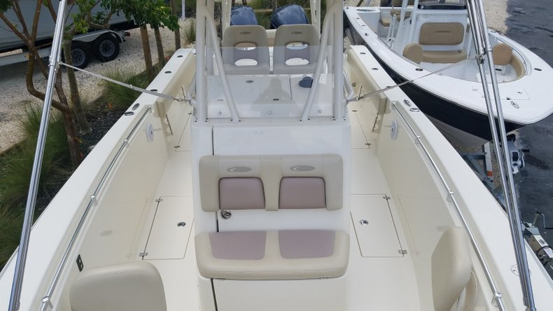Thumbnail 21 for Used 2016 Cobia 296 Center Console boat for sale in Islamorada, FL