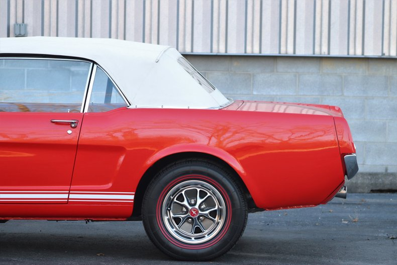 1966 ford mustang k code