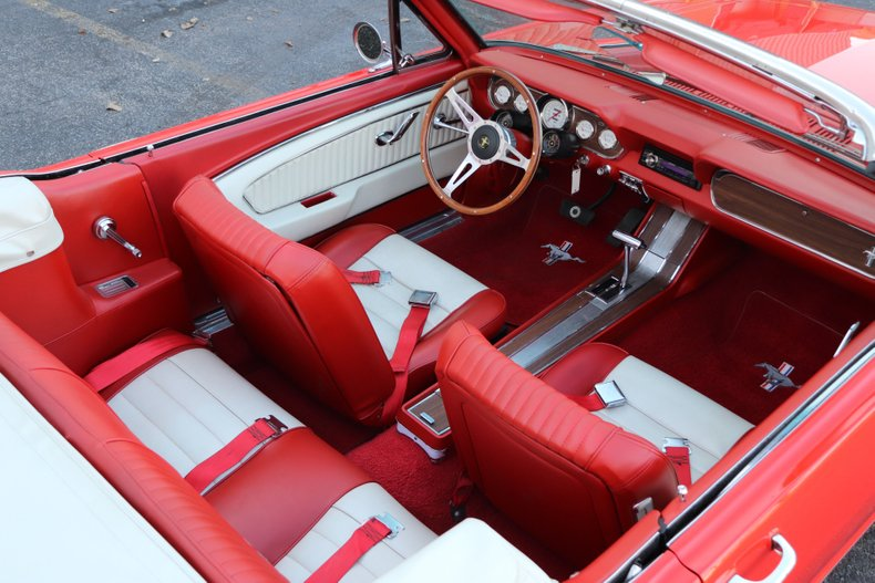 1966 ford mustang with gt appointments