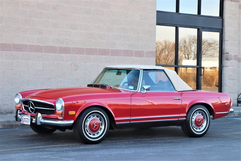 1970 mercedes benz 280sl