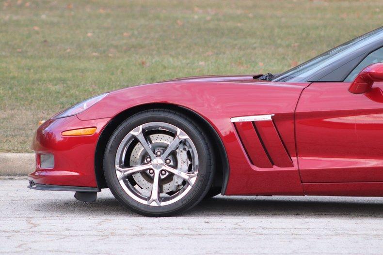 2010 chevrolet corvette grand sport convertible