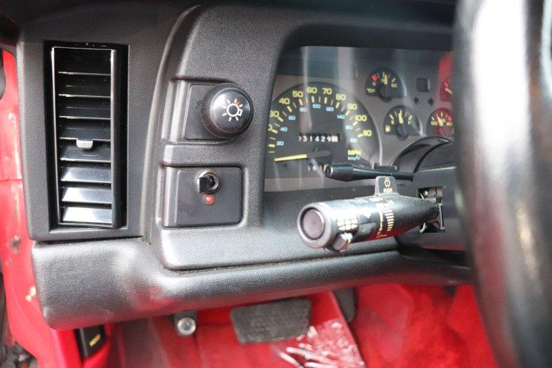 1991 chevrolet camaro rs