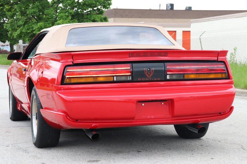 1992 pontiac firebird convertible