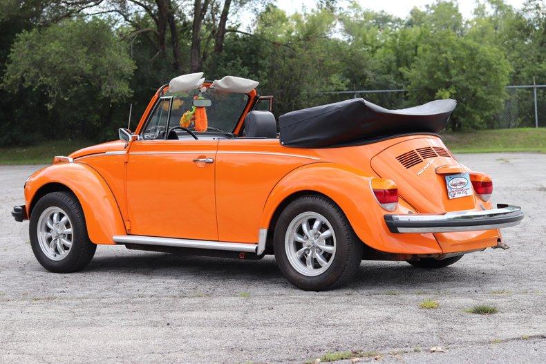1976 volkswagen super beetle convertible