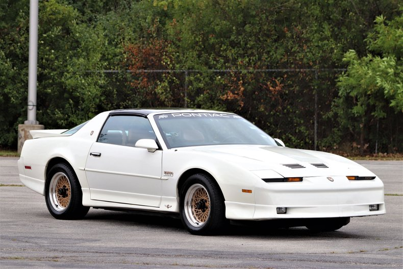 1989 pontiac trans am pace car 20th anniversary