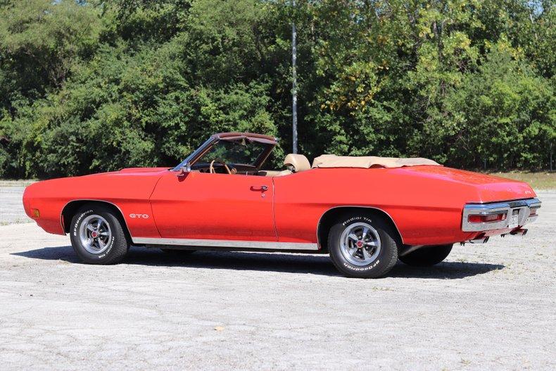 1970 pontiac gto convertible