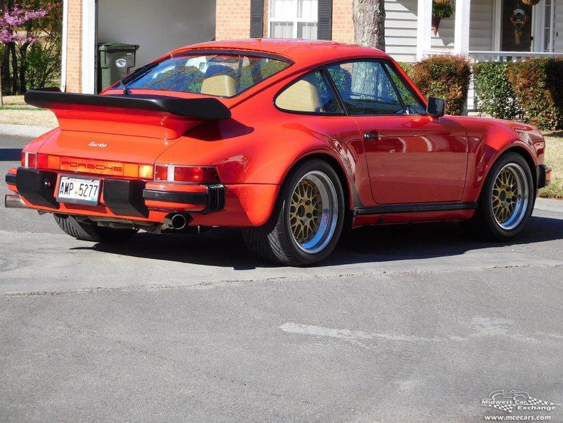 1988 porsche 930 turbo