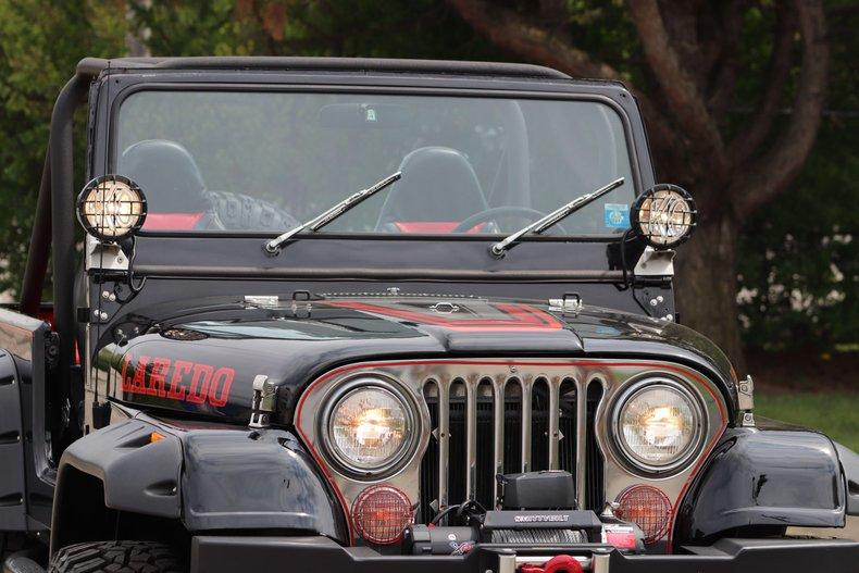 1980 jeep cj7 laredo