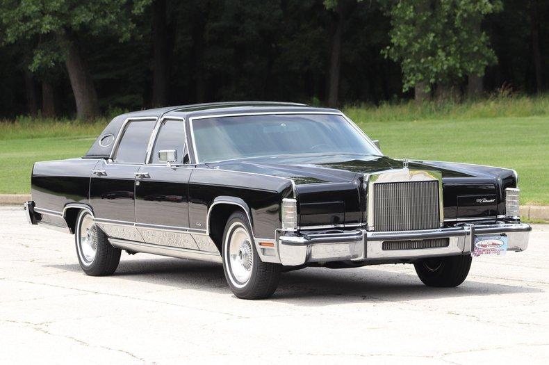 1979 lincoln continental town car