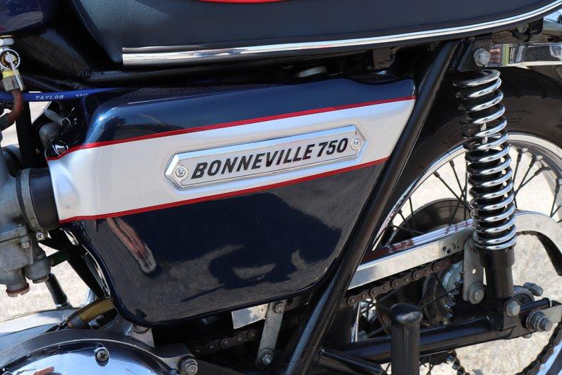 1976 triumph bonneville 750