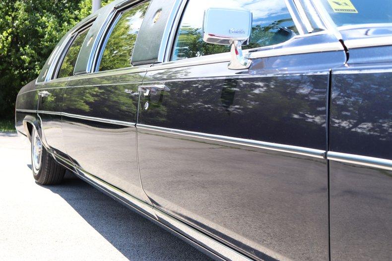 1988 cadillac brougham limousine