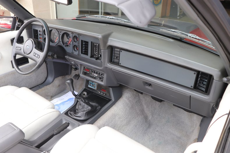 1986 ford mustang gt convertible