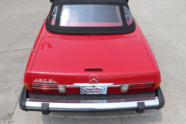 1975 mercedes benz 450sl