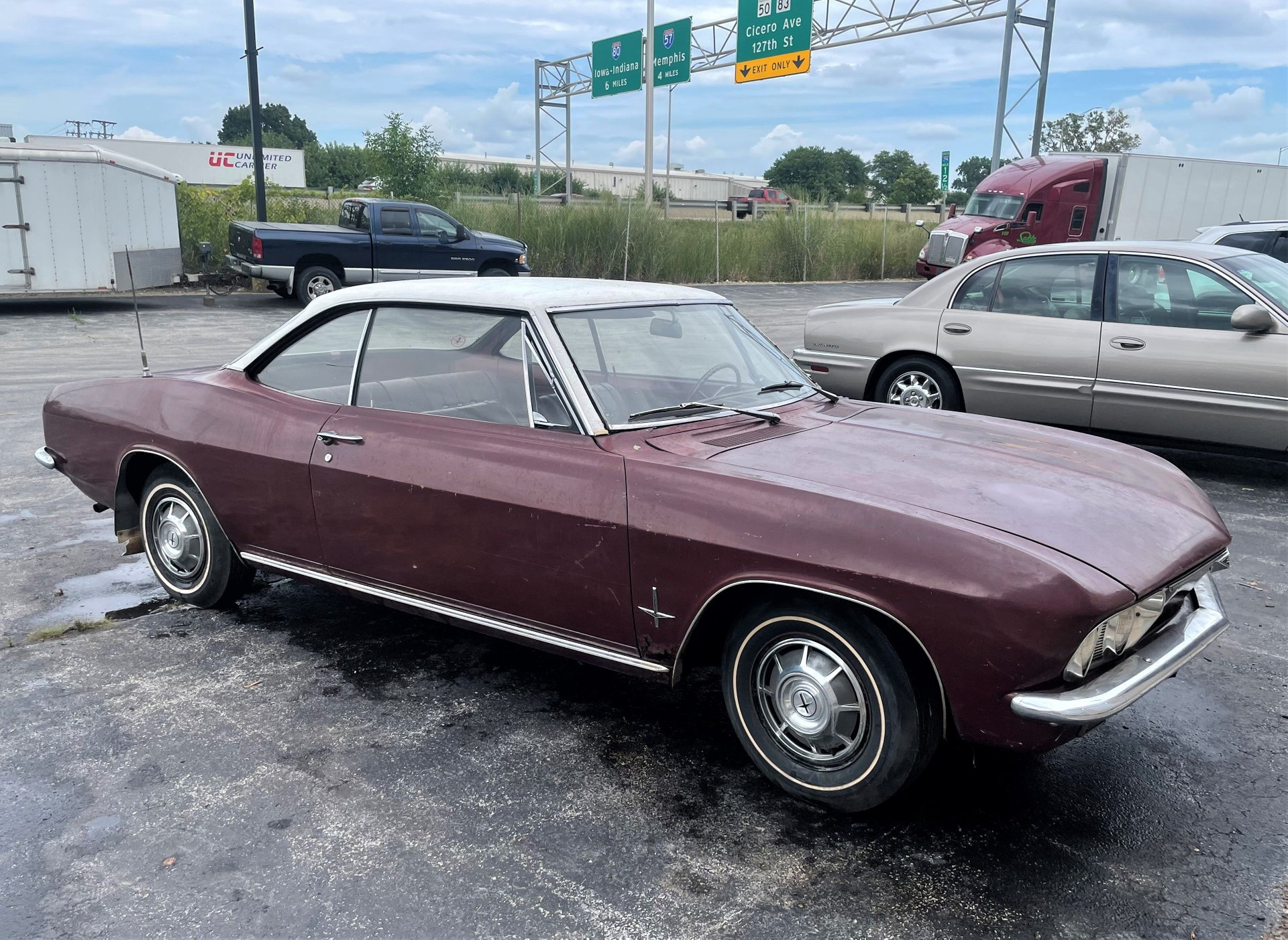 1966 chevrolet corvair monza sport coupe