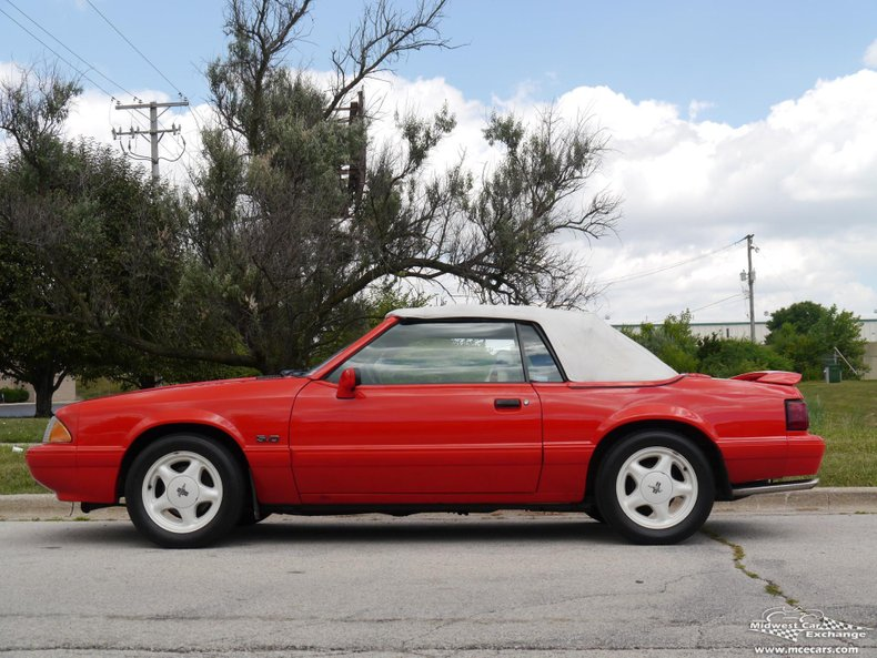1992 ford mustang lx convertible