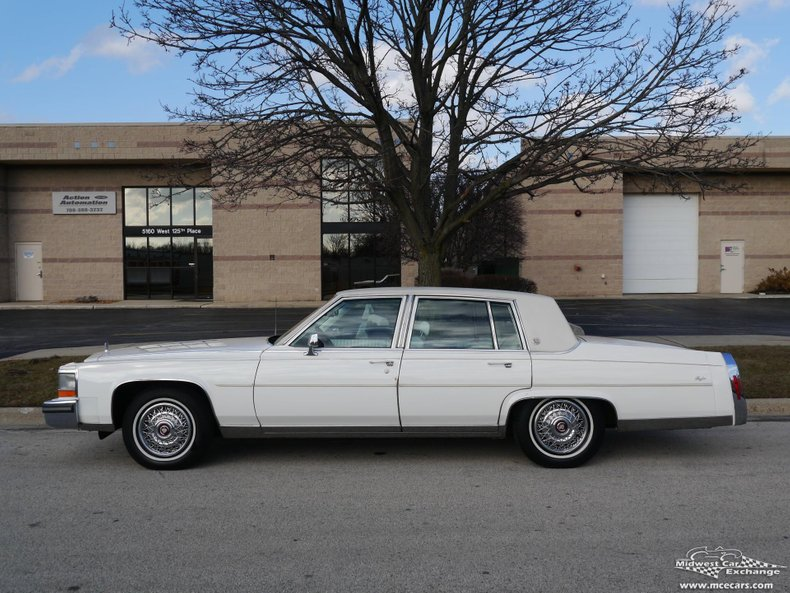 1988 Cadillac Brougham For Sale