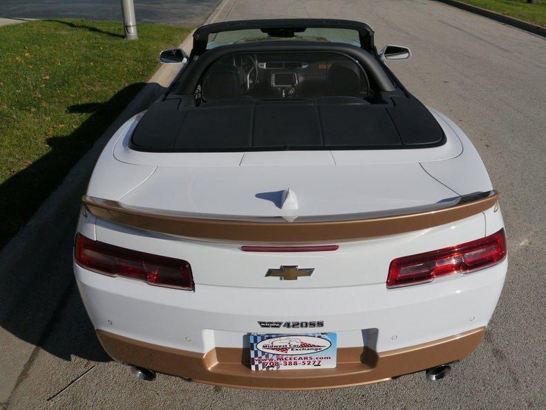 2014 chevrolet camaro rs ss convertible