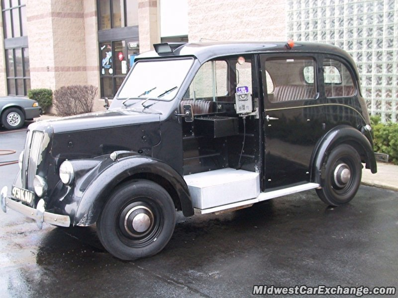 1960 beardmore mark 7 london taxi
