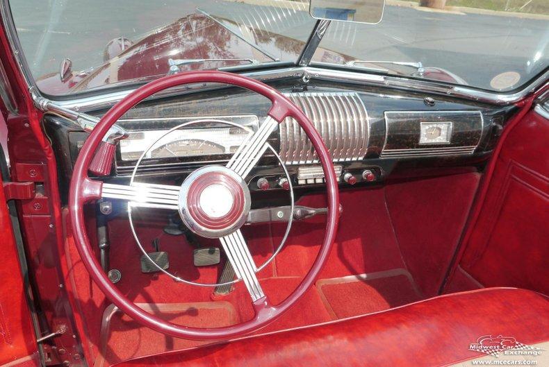 1939 buick century sport phaeton convertible