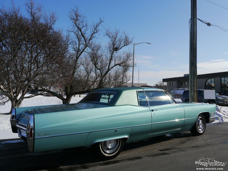 1968 cadillac coupe deville coupe