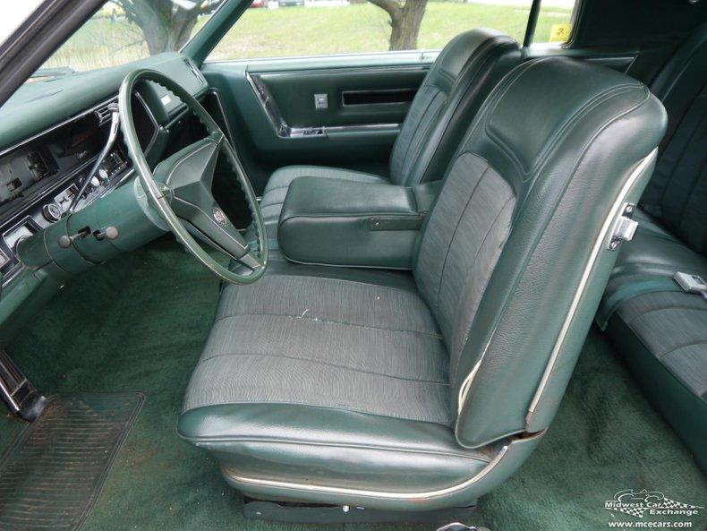 1967 cadillac eldorado 2 door hardtop coupe