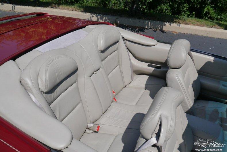1998 cadillac eldorado etc convertible