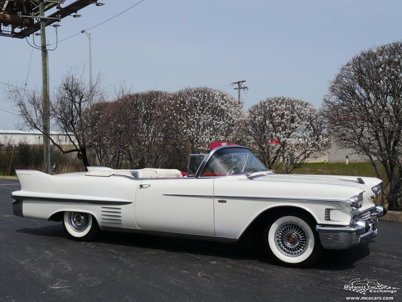 1958 cadillac series 62 convertible