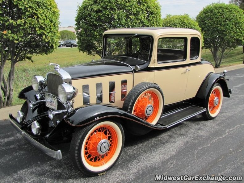 1932 chevrolet 5 window sport coupe