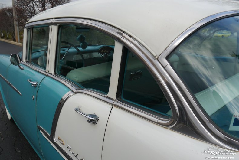 1955 chevrolet bel air 4 door sedan