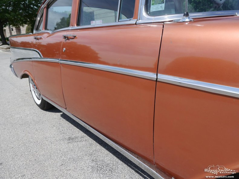 1957 chevrolet bel air 4 door sedan