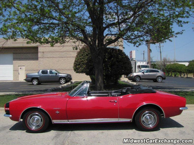 1967 chevrolet camaro rs ss convertible