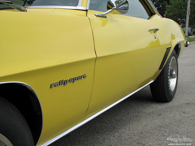 1969 chevrolet camaro rs z28