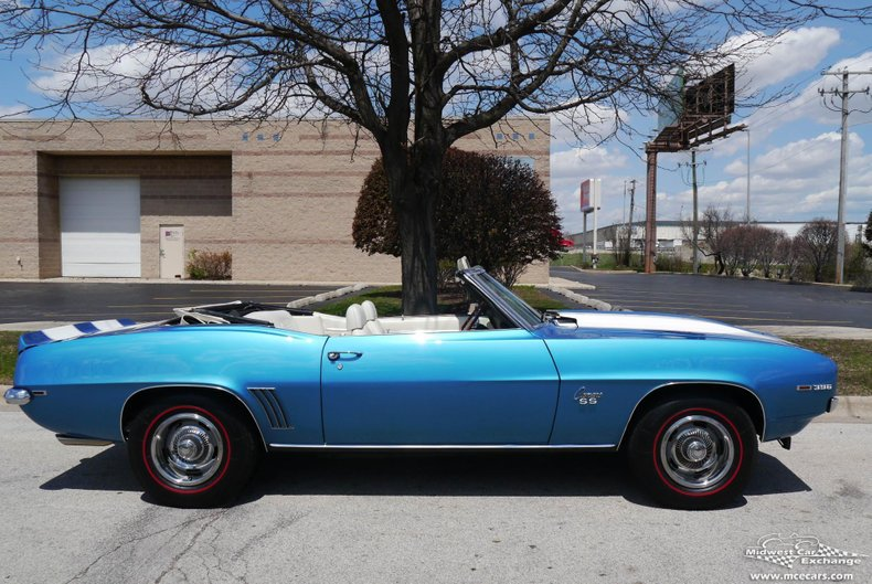 1969 chevrolet camaro rs ss convertible
