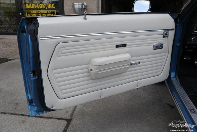 1969 chevrolet camaro rs ss convertible