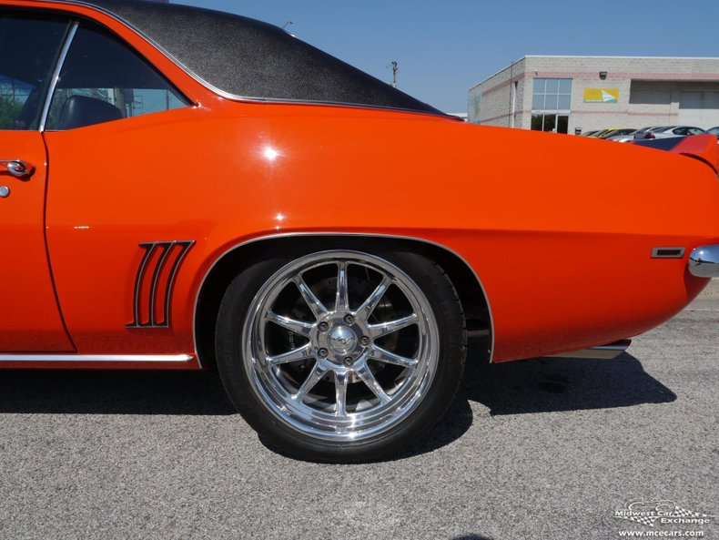 1969 chevrolet camaro rs ss pro touring